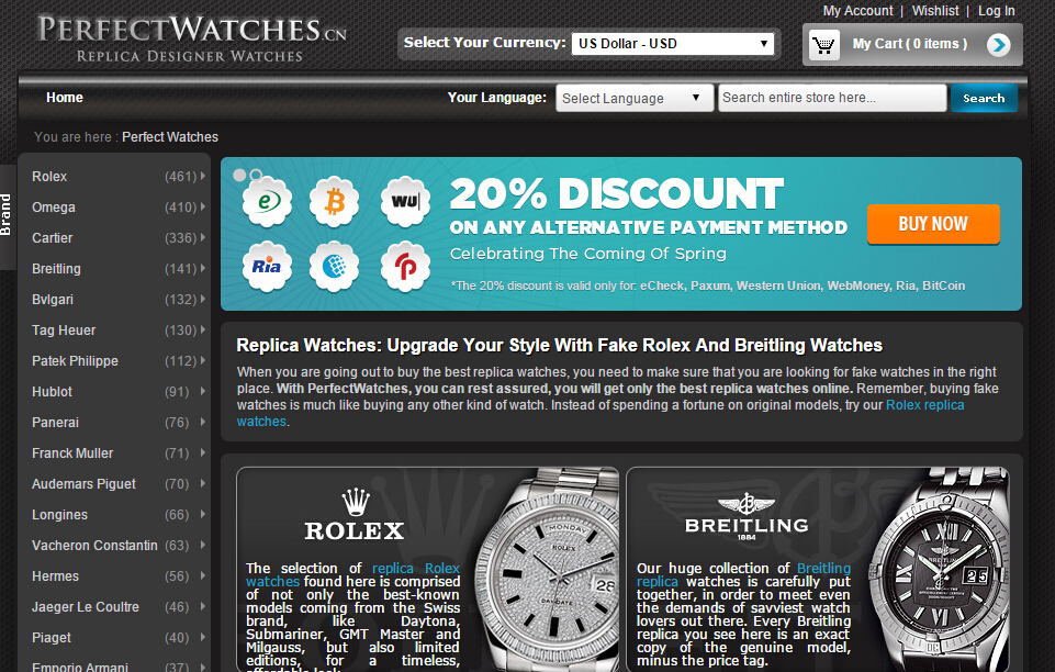 PerfectWatches.cn avis