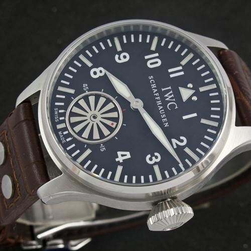 Replique montre IWC Big Pilot Markus Buhler Ref.IW5003 Turbine Movement