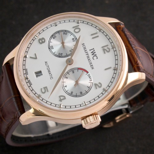 Replique montre IWC  portugaise 7 jours Power Reserve automatique Ref.IW500114