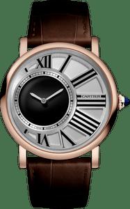 replica montre Cartier Rotonde de Cartier Montre Heure mystère