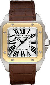 replica montre de luxe chine Cartier de Santos