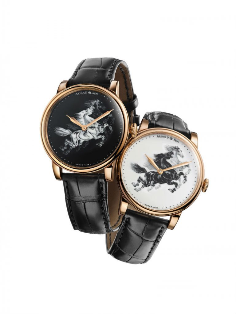 replique montre Arnold  Son horse  Chinese New Year  limited edition