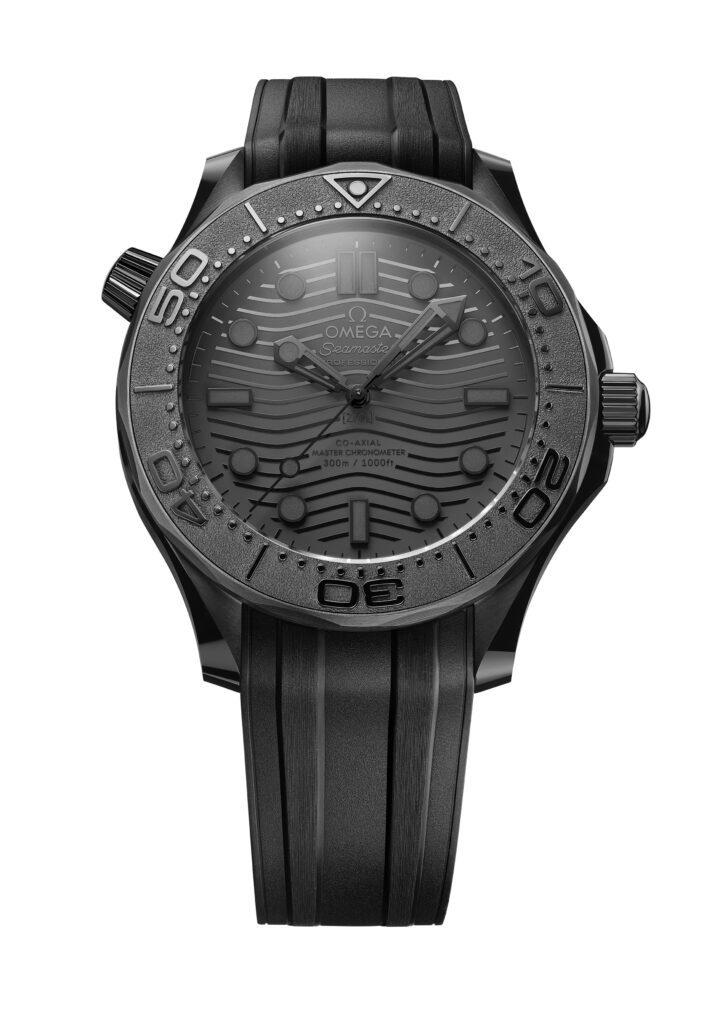 repliche montre Omega Seamaster Diver 300M Noir Noir  céramique